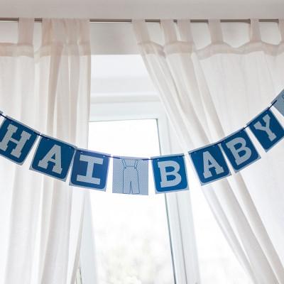 eine baby party für einen buben! rezepte & deko gibt