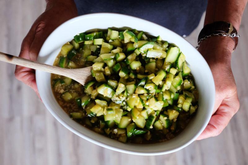 asiatischer gurkensalat - das rezept für den besten gurkensalat der wöd