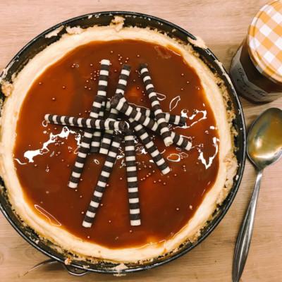 caramel cheesecake - rezept