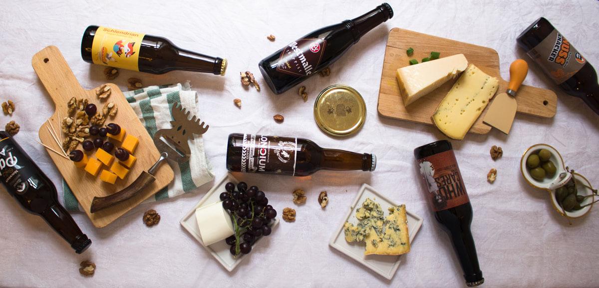 Bier und Käse, passt das zusammen?