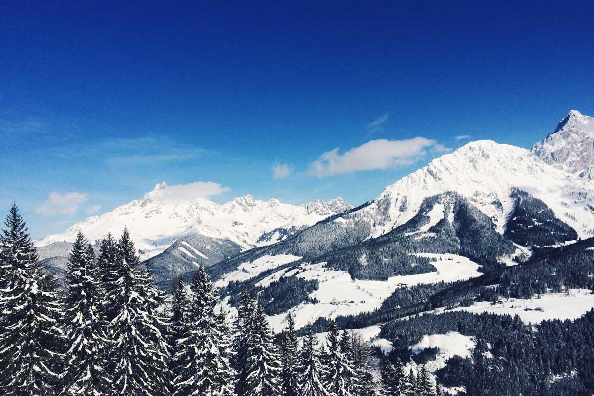 skifahren und gut essen in filzmoos