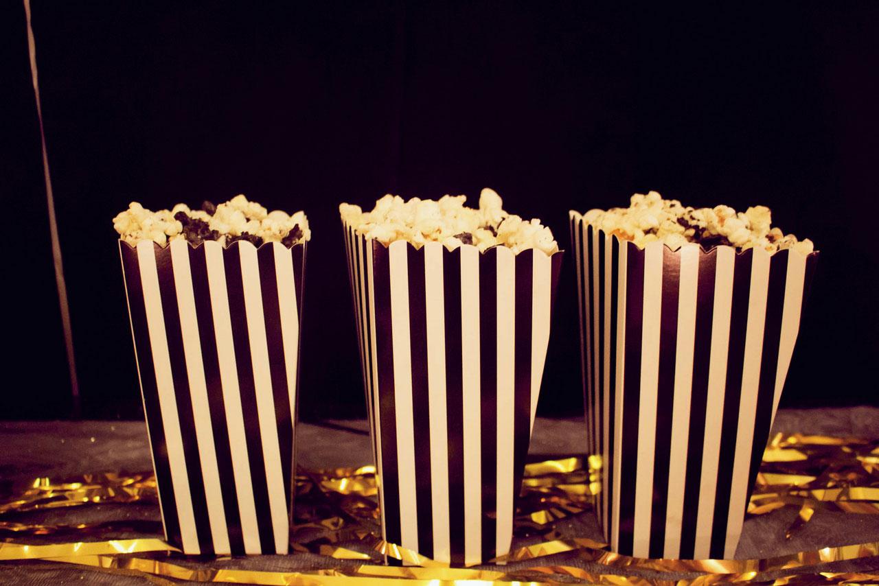 süßes oreo popcorn - selbstgemacht